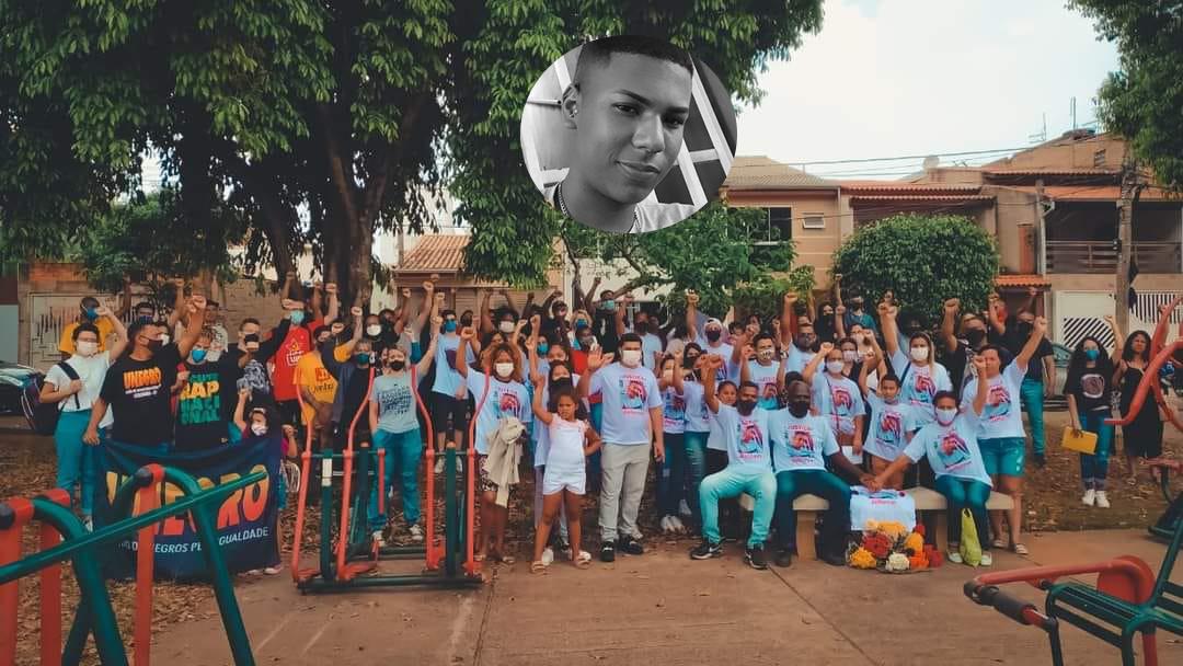 Manifestação pede justiça por morte de jovem negro em Sorocaba