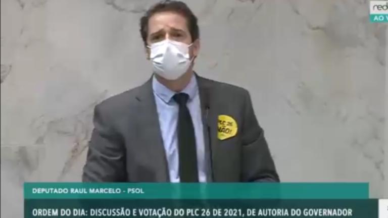 Após muita luta, bancada do PSOL na Alesp conseguiu obstruir votação do PLC 26/21 de Doria