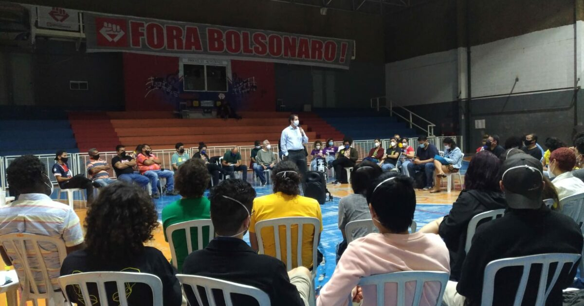 Raul Marcelo participa de plenária para debater pautas com movimentos sociais do Estado de SP