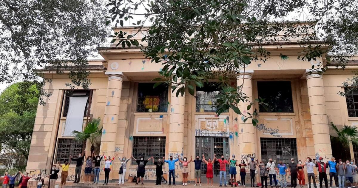 Ocupação artística reivindica a vocação cultural do prédio da 'Grande Otelo' em Sorocaba