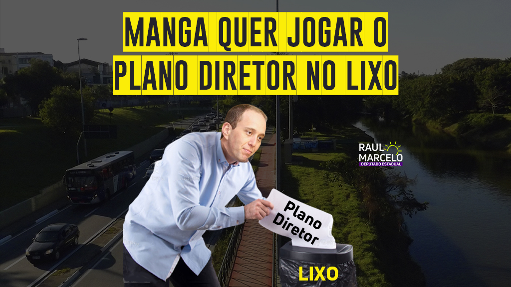 Projeto de rodoviária do prefeito Manga afronta Plano Diretor de Sorocaba e Raul Marcelo aciona Ministério Público